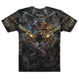 Full-Print, Athletic T-shirt - Zombie Outlaw