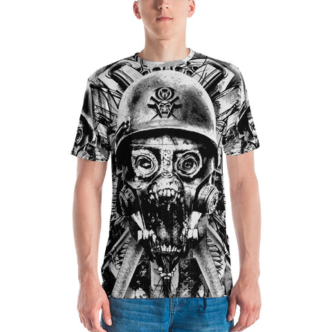 Full-Print T-shirt - Apocalyptic Soldier