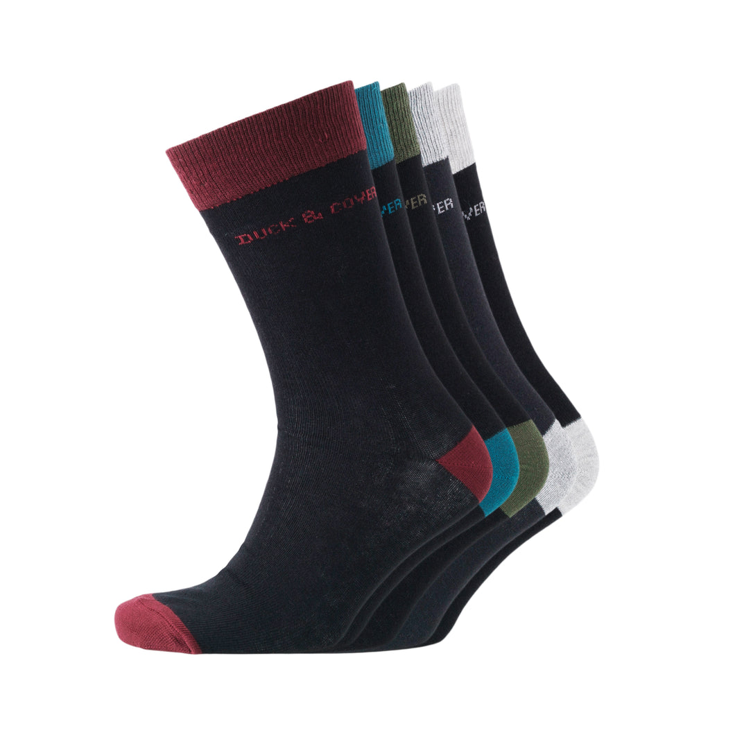 Mens Kinsley 5 Pack Socks - Buy1Get1HalfPrice.com