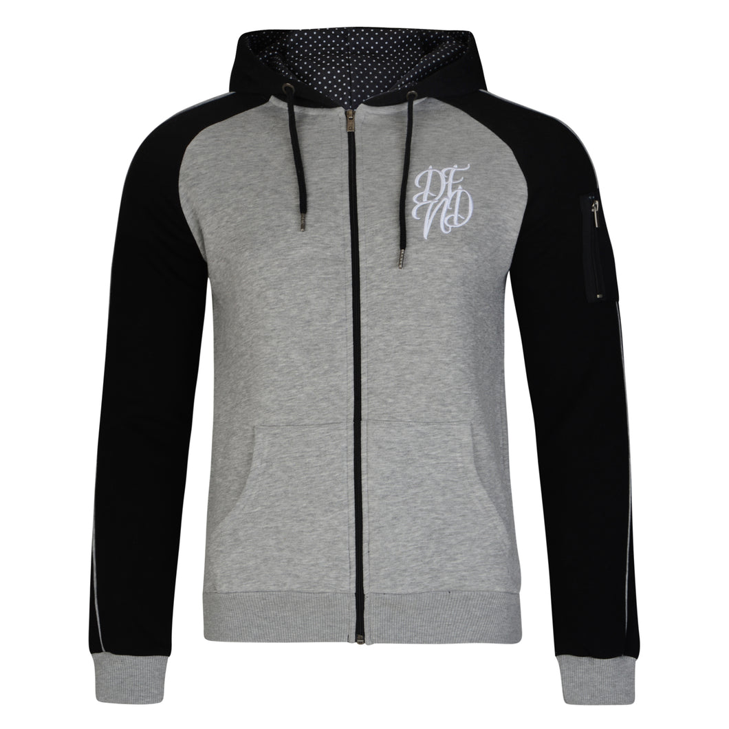 Mens Larson Zip Through Hoody - Buy1Get1HalfPrice.com
