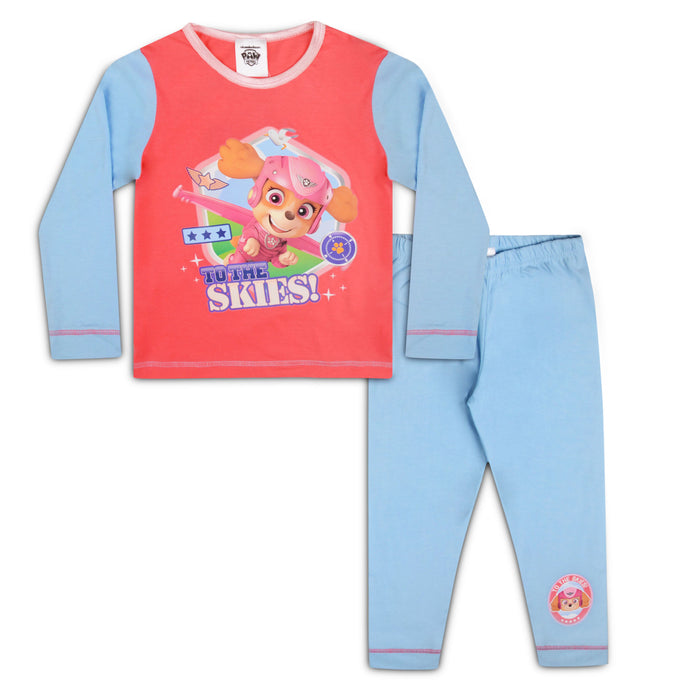 Girls Paw Patrol Skye Snuggle Fit Pyjama Set - Buy1Get1HalfPrice.com