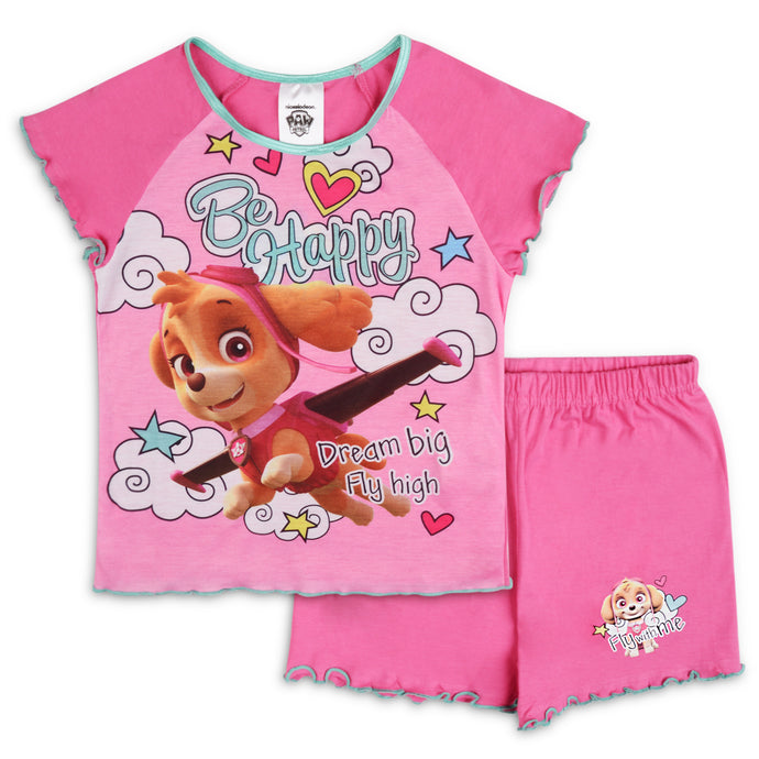 Girls Paw Patrol Skye Shorties Pyjama Set - Buy1Get1HalfPrice.com