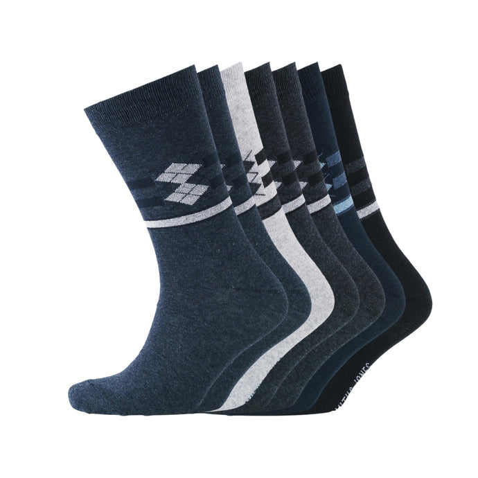 Mens Caister 7 Pack Socks - Buy1Get1HalfPrice.com