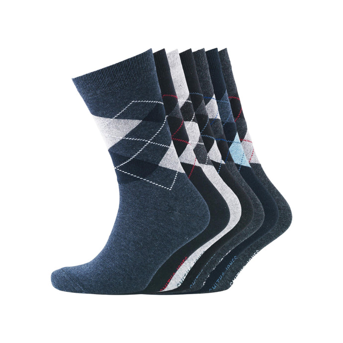 Mens Dalton 7 Pack Socks - Buy1Get1HalfPrice.com