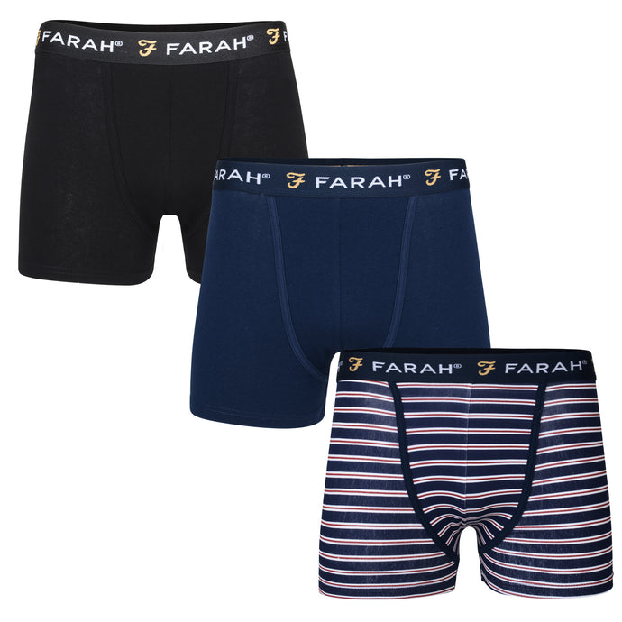 Mens Arkona 3 Pack Trunk Boxer Shorts - Buy1Get1HalfPrice.com