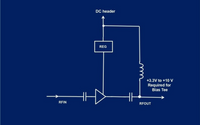 Low Noise Amplifier 10-3000MHz with Output Bias Tee and ESD ; Gain 20 dB; Noise Figure 0.65 dB