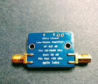 Ultra Low Noise Amplifier PGA-103+ 2 GHz; Unconditionally Stable; Gain>20dB