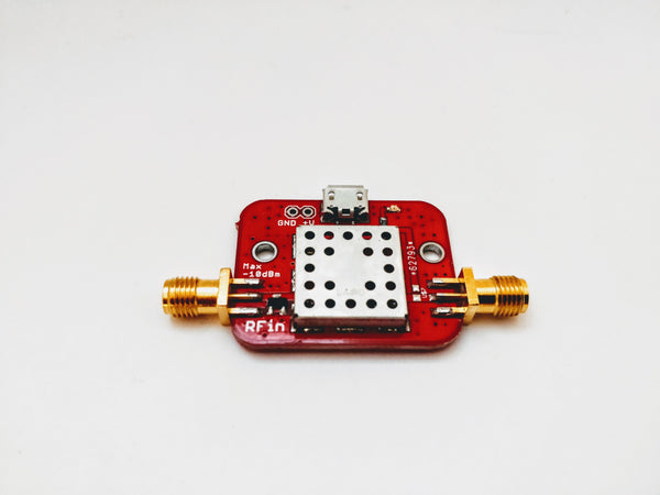 869 MHz Filtered Dual Low Noise Amplifier LNA with 30 dB Gain