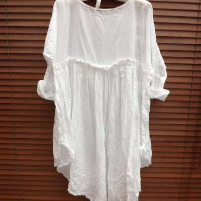 Lace Empire Line Cotton Dress RitaNoTiara Southern Gothic Couture Boho