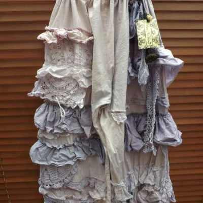 Boho Chic Bloomers RitaNoTiara Southern Gothic Couture Quirky pants