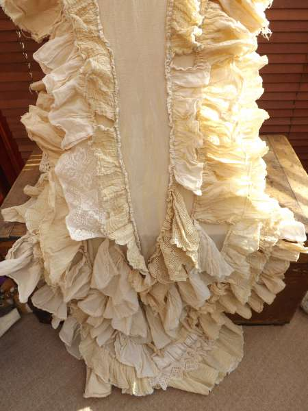 Bridal Train Coat RitaNoTiara Southern Gothic Couture OTT Showgirl