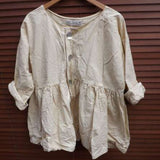 Empire Line Cotton Jacket Georgia Prairie RitaNoTiara Southern Gothic