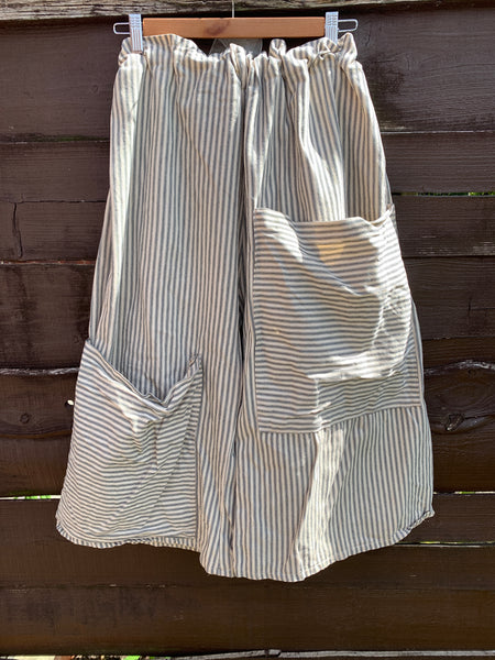 Ready to ship Louise Linen Prairie Dress