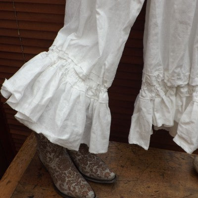 Tara Quirky Linen Bloomers Funky Lagenlook Pants boho chic trousers