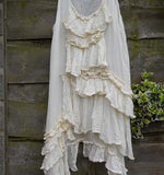 Paulette Voile Frilly Dress RitaNoTiara Southern Gothic Couture boho