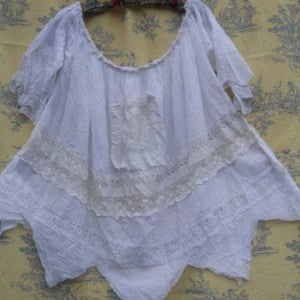 Vintage Linen Sailor Shirt