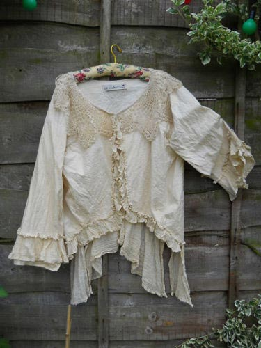Bryn Southern Gothic Lace Governess Shirt