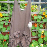 Belle Single Colour Frill Dress