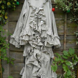 Victoriana Bustle Skirt Suit