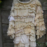 Glamping Maxi Coat RitaNoTiara Southern Gothic Couture boho chic Luxe