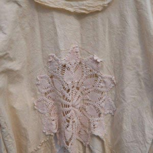Southern Gothic Jacket RitaNoTiara vintage lace crochet boho chic luxe