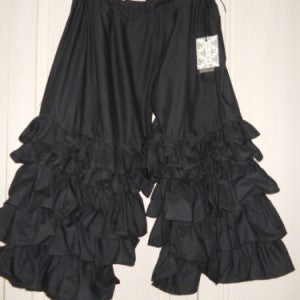 Rhett Ruffle Pantaloons Cotton Hand dyed frilly romantic RitaNoTiara