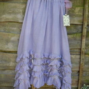 Ruffle Rodeo Skirt RitaNoTiara Southern Gothic Couture quirky clothes