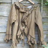 Shabby Chic jacket cotton Victorian style Steampunk boho chic Gothic