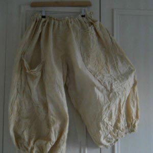 Funky Linen Balloon Pants