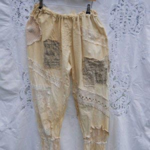 Maybelle Southern Gothic Pantaloons RitaNoTiara bloomers pants trousers