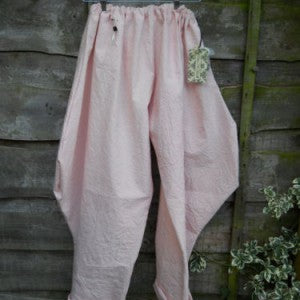 Cotton Jodhpurs Riding Pants Funky Lagenlook Bloomers RitaNoTiara