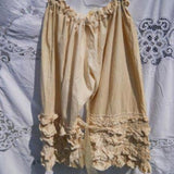 Gauze Cotton Frill Bloomers Hand dyed frilly romantic RitaNoTiara