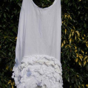 Ready to Ship Ivory Gothic Wedding Dress Free Size