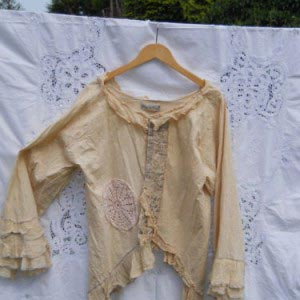 Helena Antique  Gothic Lace Top