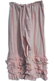 Ruffle trousers boho Cotton Hand dyed frilly romantic RitaNoTiara
