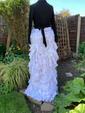 Ready to Ship Wedding High Low Skirt Free Size
