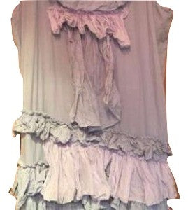 Bella Silk Frill Tunic Dress RitaNoTiara Southern Gothic Couture boho