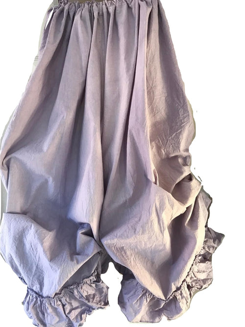 Funky Lagenlook Puffball Culottes RitaNoTiara Southern Gothic Couture