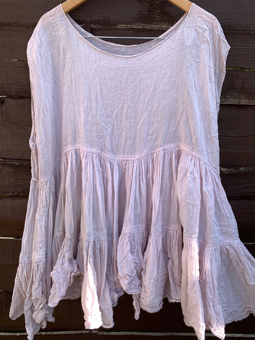 Ready to Ship One Size Beige Romy Prairie Tank Top
