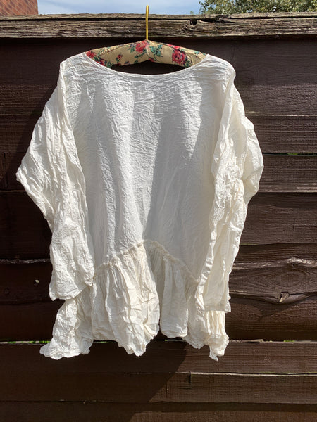 Boho Vintage Lace Cotton Dress