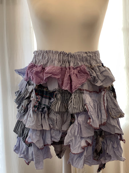 Ready to Ship Mini Ruffle Festival Skirt Free Size
