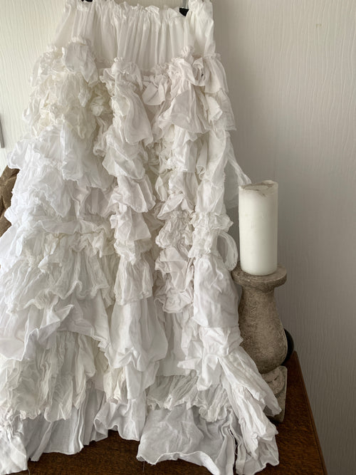 Ready to Ship White Wedding Skirt One Size