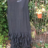 Carla Frilly Dress lagenlook boho chic RitaNoTiara Southern Gothic