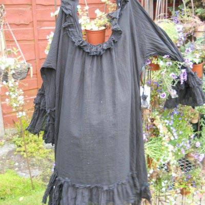 Janey Pirate Wench Shirt boho chic RitaNoTiara Southern Gothic Couture
