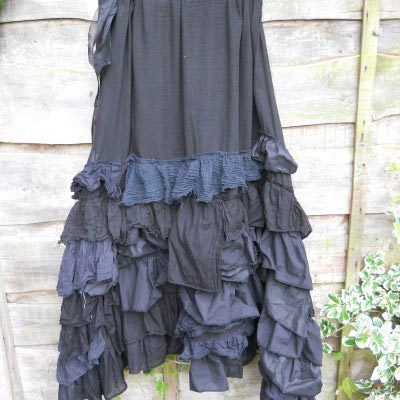 Shay Gothic Lace Maxi Skirt RitaNoTiara Southern Gothic Couture gypsy
