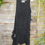 gothic frill tunic RitaNoTiara Southern Gothic Couture boho chic goth