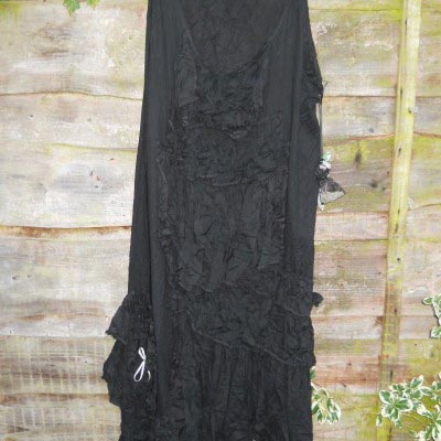Shay Gothic Lace Maxi Skirt