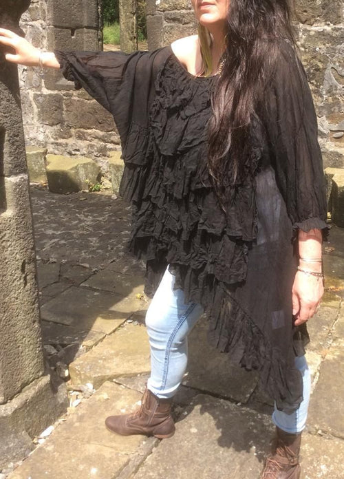 Savannah Pirate Shirt boho chic RitaNoTiara Southern Gothic Couture
