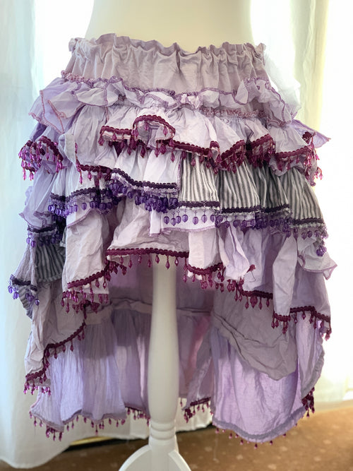 Ready to Ship Lilac High Low Skirt Free Size