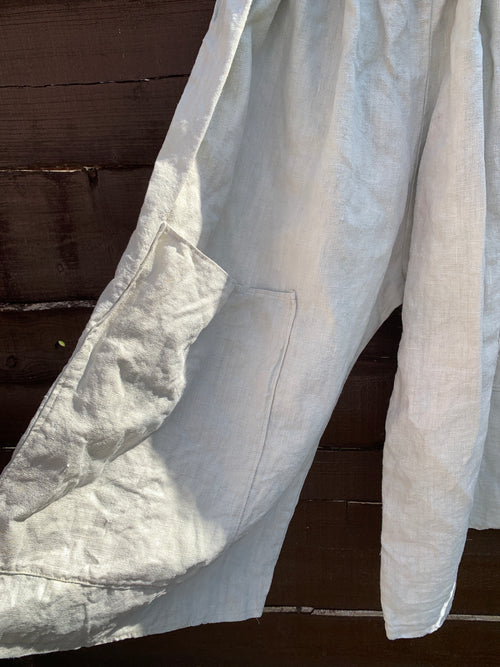 Ready to Ship Linen Big Pocket Pants Unisex (seconds)